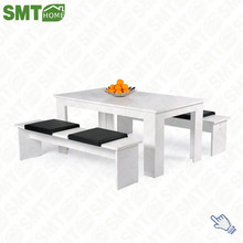 Modern corner classic white furniture dining room furniture sets