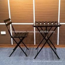 Cadeira de mesa dobrável de madeira do Vietnã