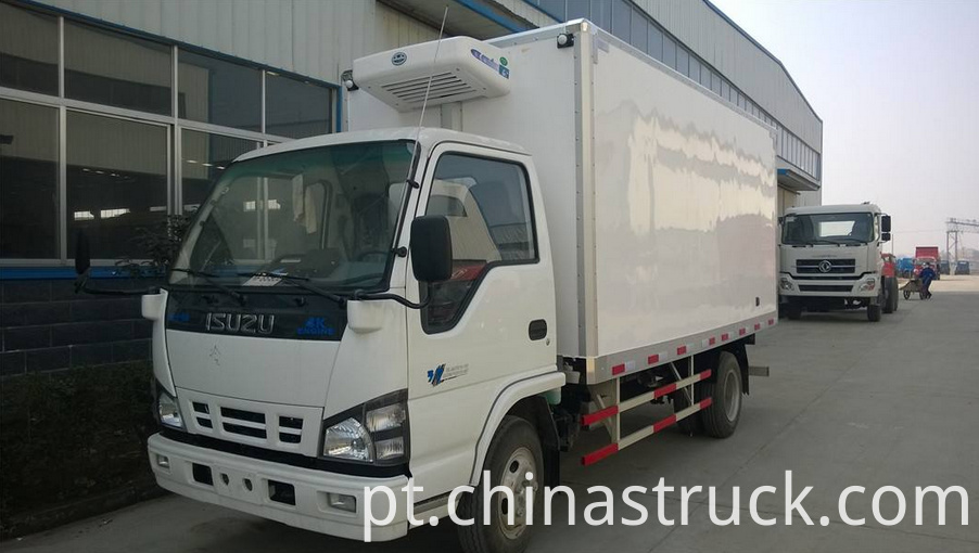 ISUZU 3Ton medical refrigeration truck