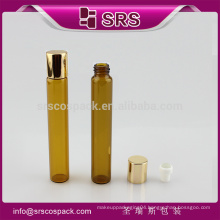 Round roller bottle packaging,roll on oil bottle ,15ml deodorant glass roll on bottle for oil
