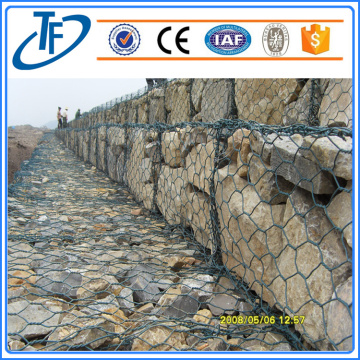 2017 top hot sale galvanized zinc gabion baskets