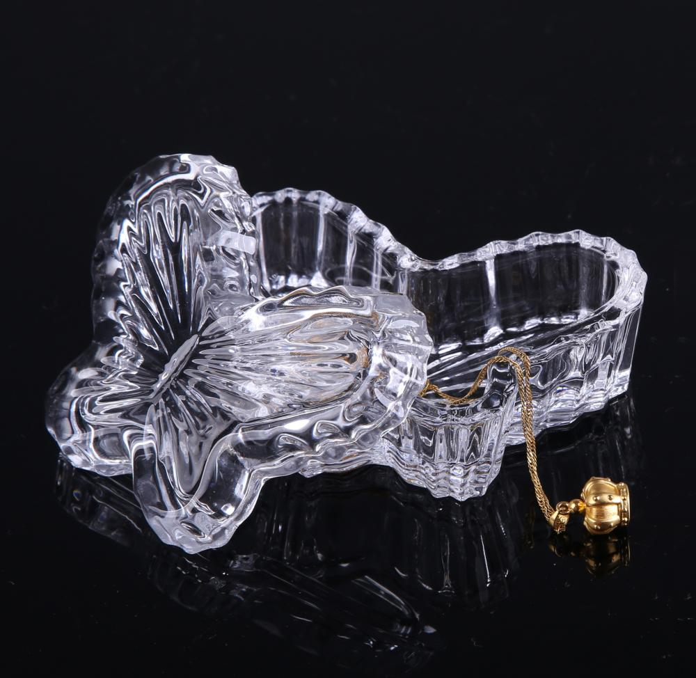 Br 1430butterfly Shape Jewelry Gift Box With Lid