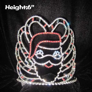 Crystal Santa Claus Christmas Crown