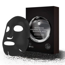 Deep Cleansing Purifying Pores Hydrating Face Mask Hyaluronic Acid Black Sheet Mask