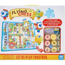 Avión de vuelo de ajedrez rompecabezas juego de juguete educativo