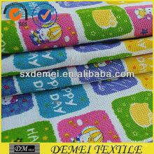 tela de algodón barato lona impresa de shaoxing