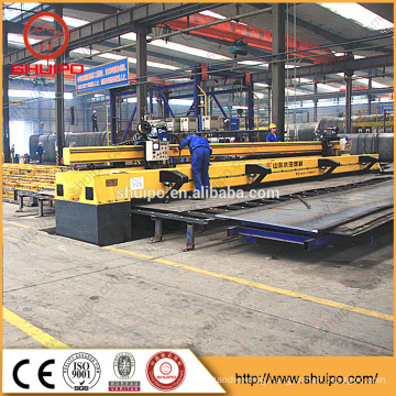 welding machine for flat plate