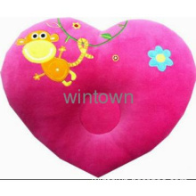 Red kids neck pillow with heart shape hot sale in 2013