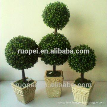 bonsai artificial grass ball tree prices