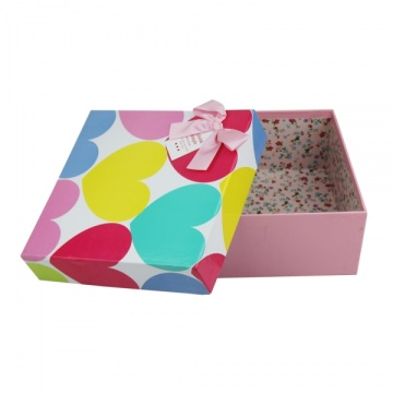 Custom size apparel packaging box