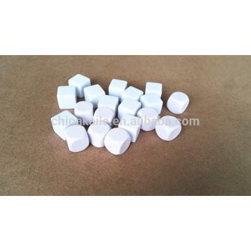 Plastic blank dice