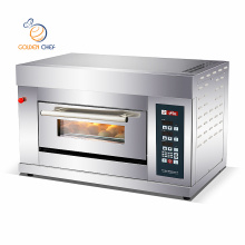 Horno Table top 1deck 1tray digital baking machine gas single deck baking cake oven gas bread oven industrial bread oven