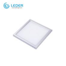 LEDER LED panel lights installation
