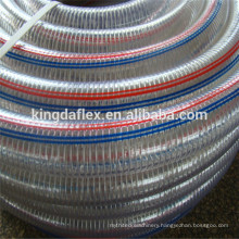 Abrasion Resistant Flexible 4 Inch Food Grade PVC Clear Suction Hose 5bar