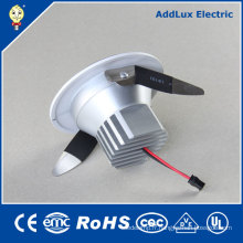 Energy Star COB 4W 6W 8W 12W rond LED Downlight
