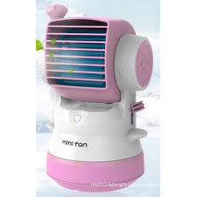 USB Mini Fan Mist Humidifier Spray Fan