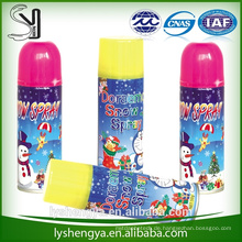 Schnee-gefälschter Schneespray-Fliegenschneespray