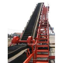 Cross Stabilised Sidewall Corrugated Conveyor Belt