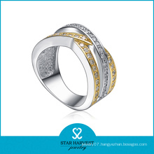 Wholesale Customized CZ 925 Silver Jewellery Ring (SH-R0146)