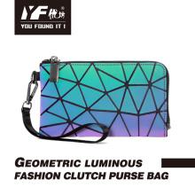 Bolsa luminosa bolsa refletiva para celular com embreagem