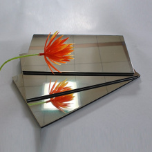Baumaterialspiegel Aluminium-Verbundplatte