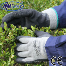 NMSAFETY LATEX TERRY KNIT LINER ANTI-CORRSION CHEMICAL WINTER WORKING GLOVE