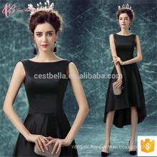 Schwarzes Sleevless Taobao kurzes brasilianisches Guangzhou-Fabrik-Abend-Kleid