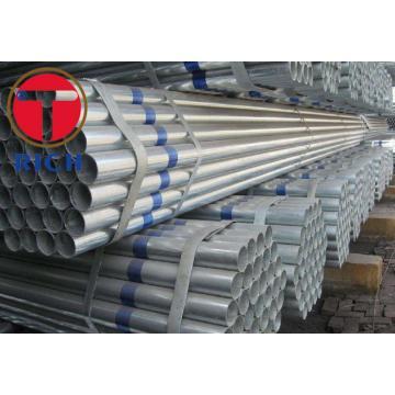 GI SS400 Pre Galvanized Round Steel Tube