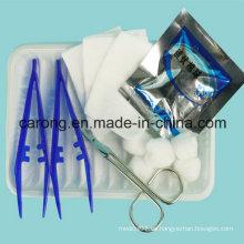Kit médico desechable para heridas