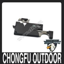 Couteau de carte de crédit en acier inoxydable portable pour équipement extérieur