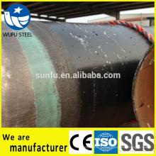 Спиральная SSAW Q345B стальная труба для транспортировки нефти и газа