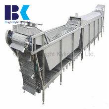 Esterilização, refrigeração Uma linha de pasteurização