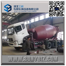 DFAC Dalishen Cummins Engine 8 M3 Cement Mixer Truck