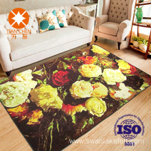 Custom Painting Pattern Printed Indoor Carpet Rug