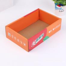 Caixa de papel ondulado barato barato do chá original do projeto da fábrica