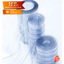 Cortina de porta macia personalizada pvc, cortina de tira transparente de pvc