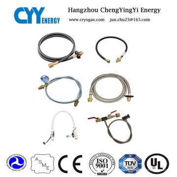 Filling Hose for Oxygen Argon Nitrogen Gas Cylinder