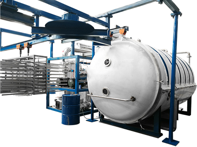 seafood lyophilization machine