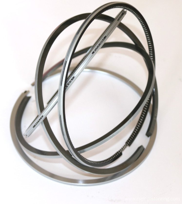 DLC High performance locomotive piston ring