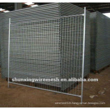 ISO9001 Hot dipped Galvanized Temporary Mesh Fencing Panel