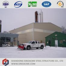 Edifício Industrial de estrutura metálica com vários andares