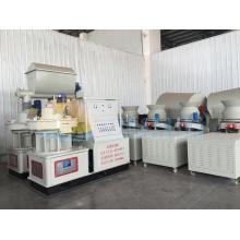 Máquina de granulación de madera aserrada para el mercado de Indonesia
