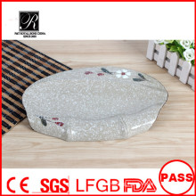 2015 New Design High Quality Oval Designed Hotel Restaurant Ceramic Fish Plate