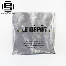 Custom design recycle die cut packing bags