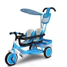 Triciclo de venda de crianças bom com assentos duplos