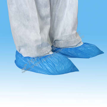 Colorful Household Disposable Plastic Shoe Cover for Adult
