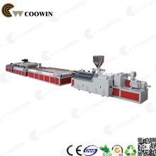 Outdoor Decoration WPC Decking Wood Plastic Composite Production Line