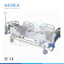 AG-BM109 with central-controlled braking system electric 3-function medical adjustable adjustable beds cheap
