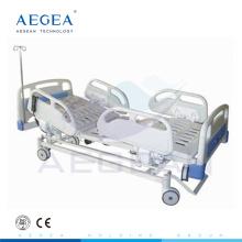 АГ-BM109 с центральн-контролируемую систему торможения электрический 3-function медицинские регулируемые регулируемые кровати дешевые