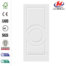 36 in. x 80 in. C3140 Primed 3-Panel Solid Core Premium Composite Single Slab Interior Door